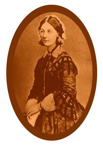Florence Nightingale. Enfermera inglesa, pionera de la enfermería profesional moderna