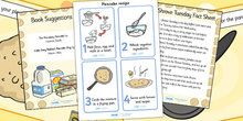 Pancake Day (Shrove Tuesday) Primary Resources, recipe, visual aid - Page 1