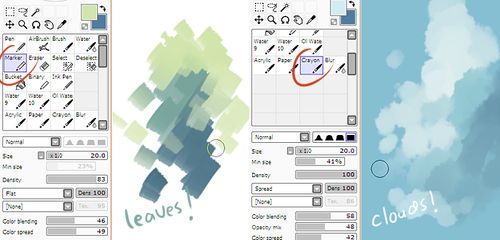 how to make shapes in paint tool sai
