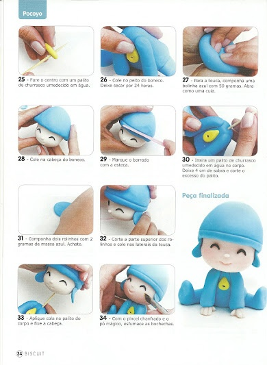 step by step Pocoyo part n°3