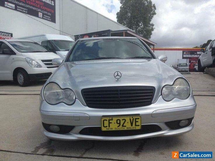 2002 Mercedes-Benz C32 W203 AMG Silver Automatic 5sp A Sedan #mercedesbenz #c32 #forsale #australia