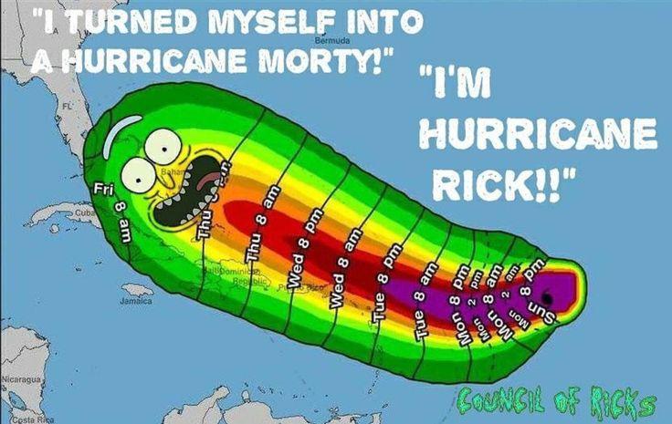Rick and Morty • Hurricane Rick
