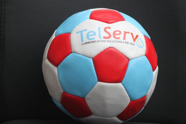 Scoring with #TelServ #soccerball #premium