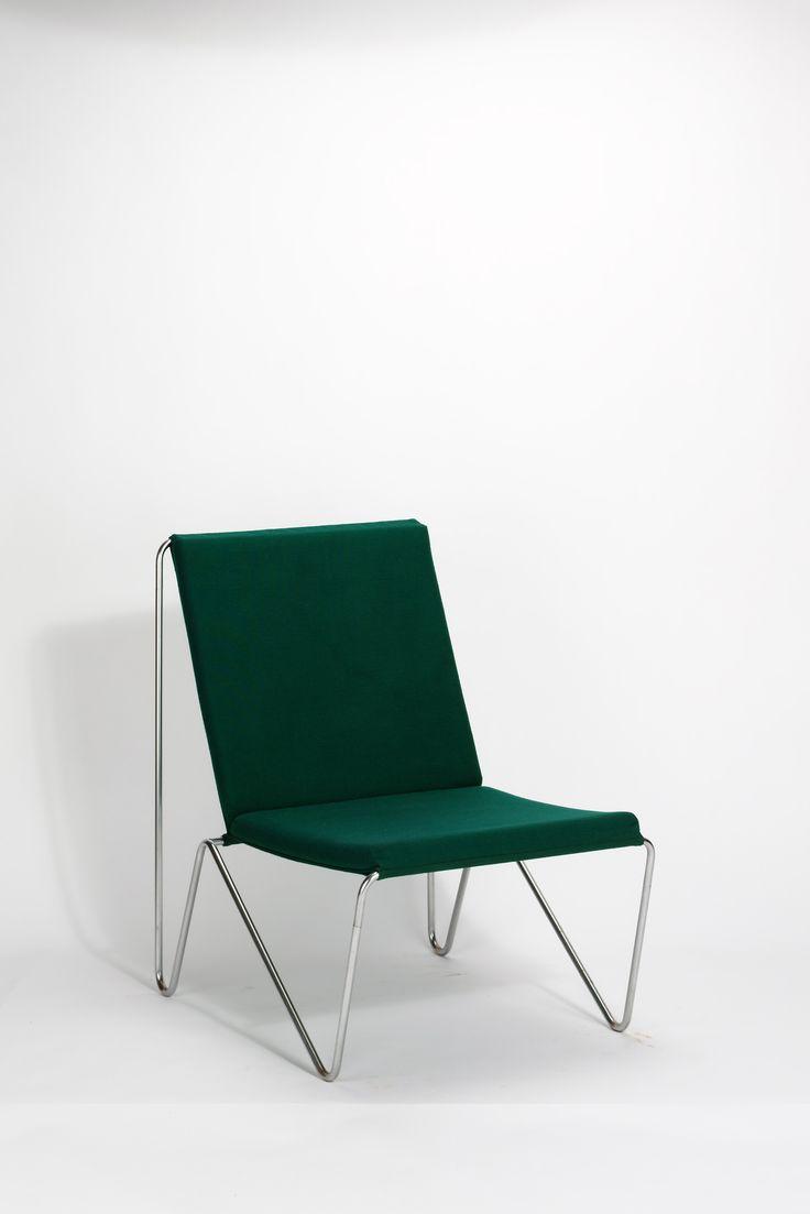 Some kind of soft seating with no arms Verner Panton, bachelor chair, 1955
