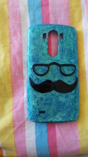 Forro  de mustacho para mi celular