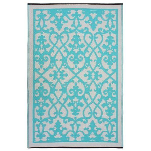 buy fab habitat venice rug in turquoise from bed bath u0026 beyond
