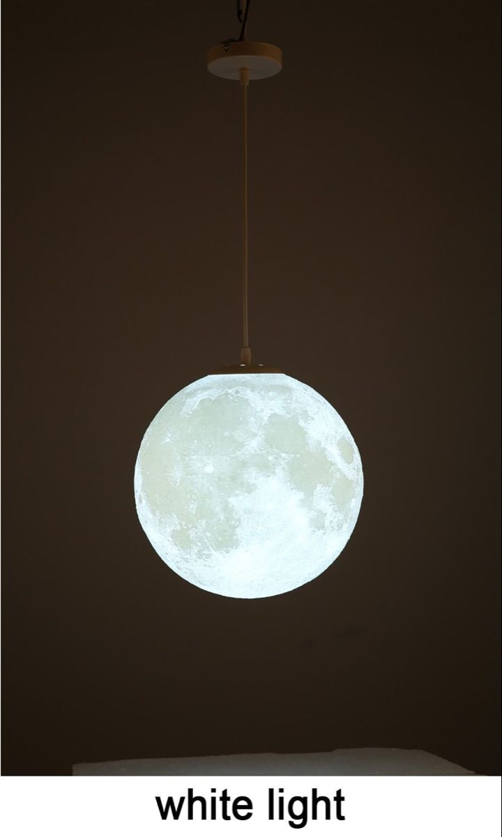 Modern 3d Print Moon Lamp Pendant Lights Lewe Decor Pendant Lamp Pendant Lighting Lights