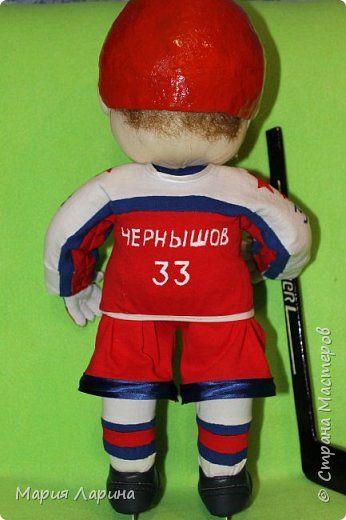Куклы День рождения Папье-маше Шитьё трус не играет в хоккей   Капрон фото 2