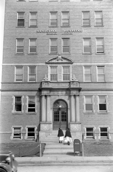 Old General Hospital In Kansas City