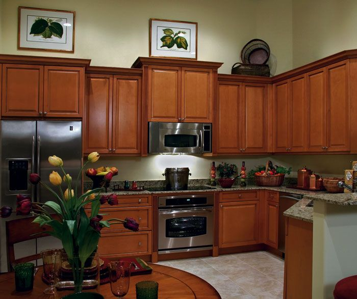 door style columbia room kitchen wood maple finish nutmeg mocha glaze