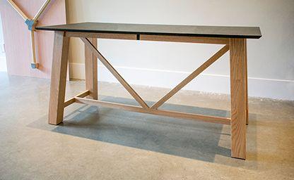 Willow & Stump Truss Table