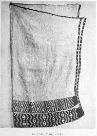 XV Maori Taniko Cloak