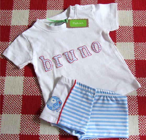 Conjunto bañador + camiseta