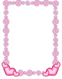 FREE Swirlie Heart Border!