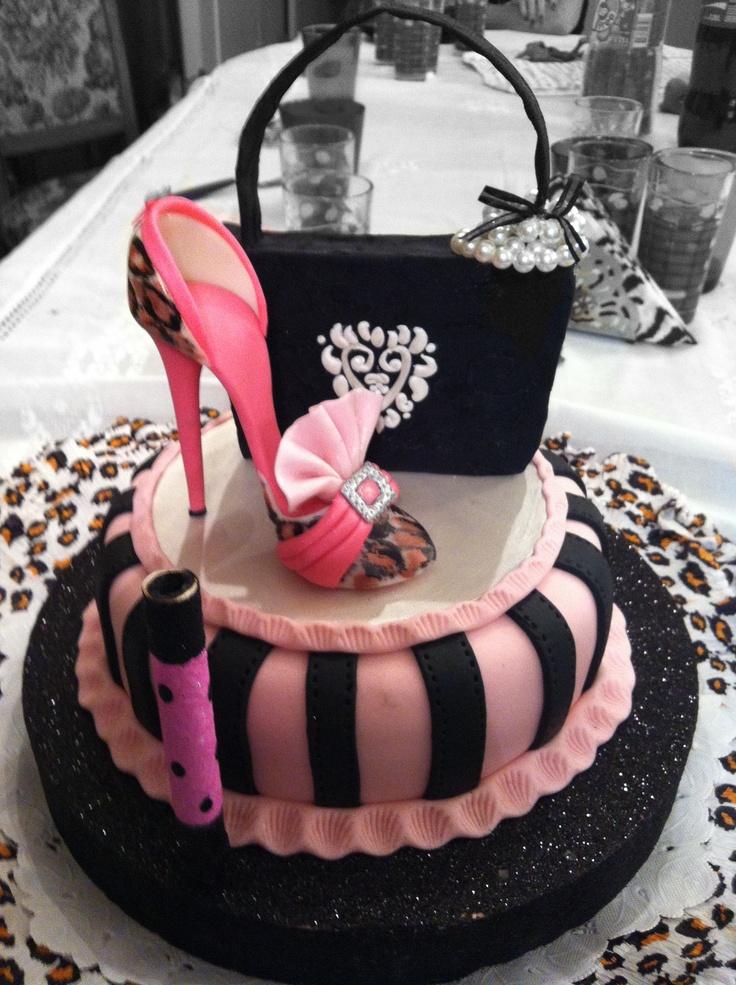 124 Best Women Birthday Cakes Images On Pinterest Beautiful Cakes