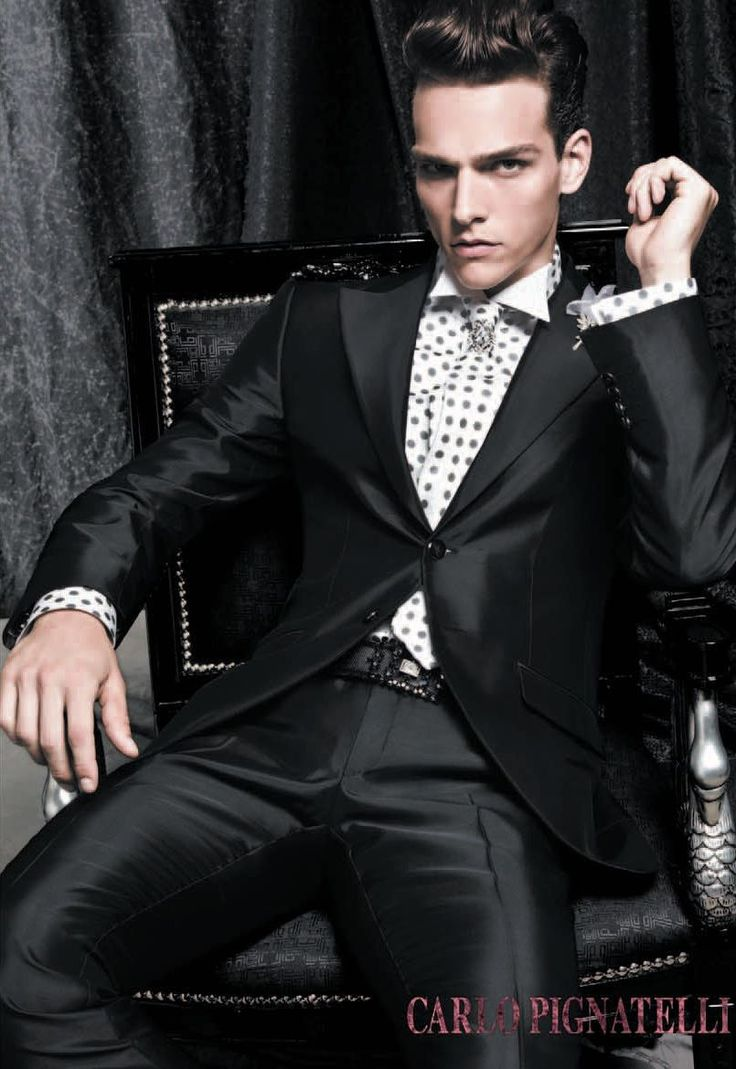 I'd Show Up at a Formal Event Like This (sans the wing collar shirt)..!!!