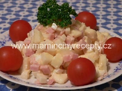 13 sýrový salát se šunkou