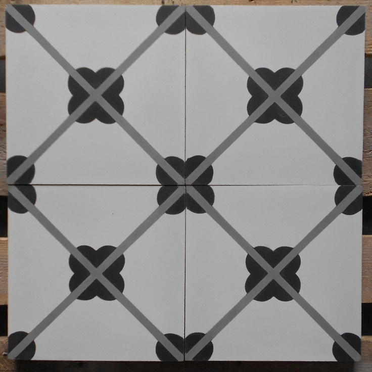 Carreaux ciment mod le ch 03 en 20x20 pretty pattern for Carrelage du marais bruxelles