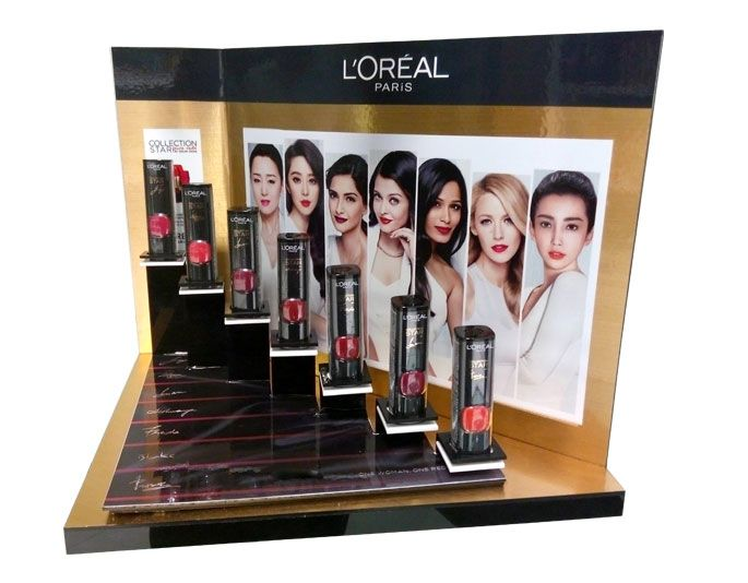 L'Oreal Collection Step Up Counter Display