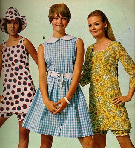 1960s Bloomer and Mini Dresses