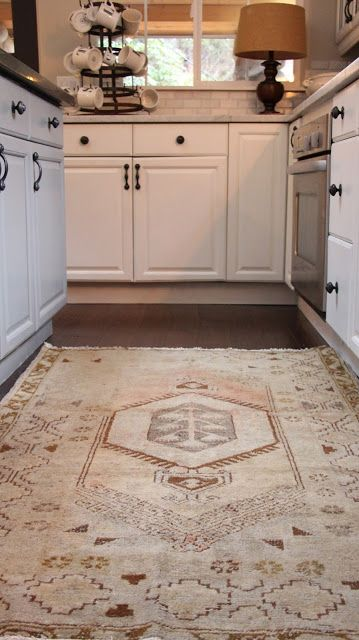 Using vintage rugs in your home, by My Sweet Savannah, and a great inexpensive source!