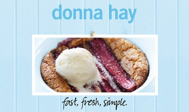 Rhubarb Puddings : Donna Hay Fast Fresh Simple : The Home Channel