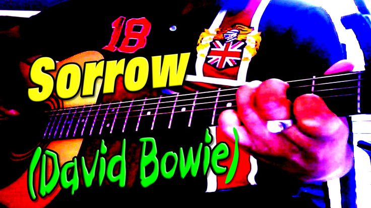 Sorrow - David Bowie - Acoustic Cover By Ash Almond