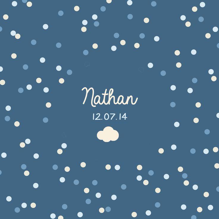 Naissance - Confettis nuit - Police 1