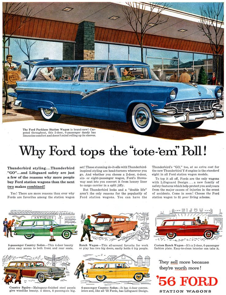 Attrayant 10 Classic Ads From 1956
