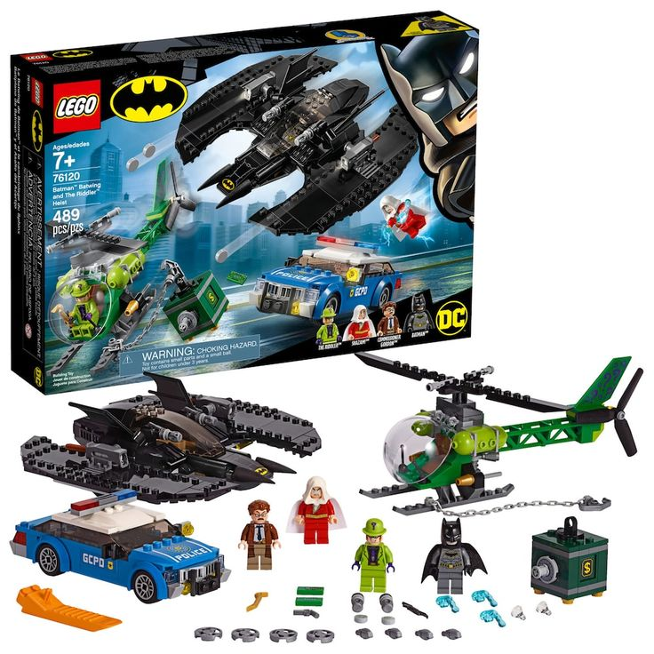LEGO Super Heroes Batman, Batwing and The Riddler Heist