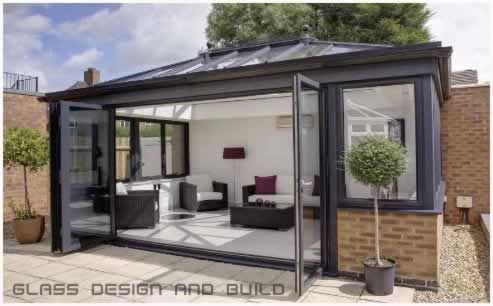 3 stars like simple lines dislike low door cill too for Orangery interior design ideas