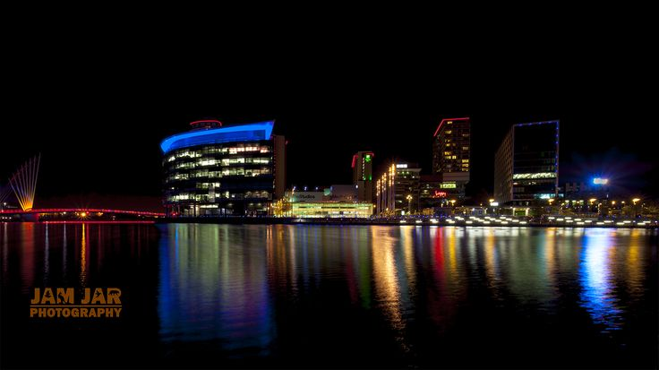 MediaCityUK After Dark
