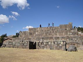 Usnu (Quechua for altar / a special platform for important celebrations, also spelled Ushno) is an archaeological site in Peru. It is located in the Ayacucho Region,Vilcas Huamán Province, Vilcas Huamán District, in the town Vilcashuamán.