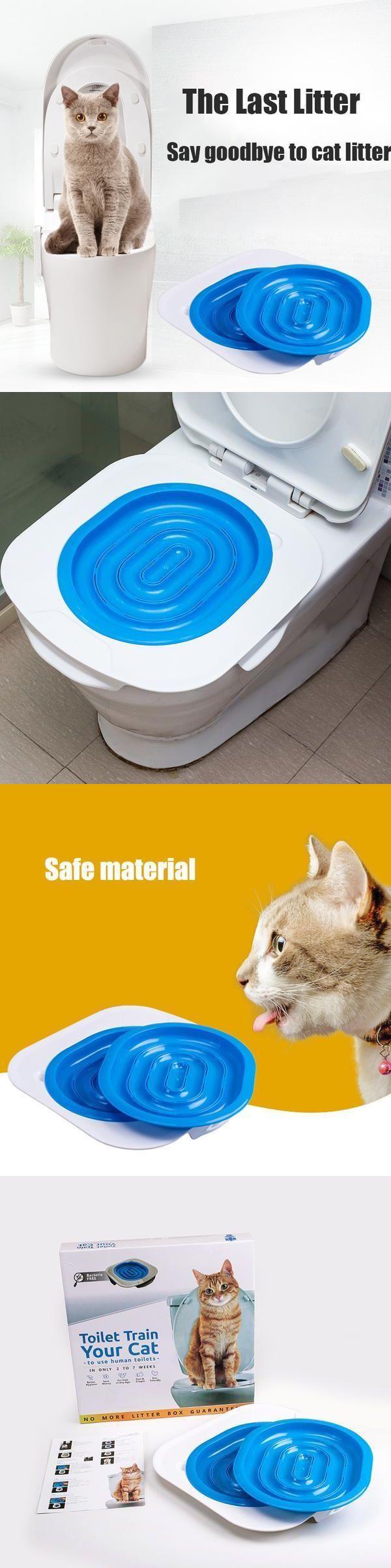 Behavior Training 116361: 2017 Hot Cat Toilet Seats Training Kit System For Cats Training Behavior -> BUY IT NOW ONLY: $38 on eBay!