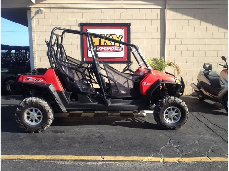 Ebensburg Yamaha Inc. is the dealer of cheap used 2013 ‪#‎Polaris‬ Ranger rzr 4 800 ‪#‎Work_Utility_ATV‬ from Ebensburg, PA, USA. Find 2013 Polaris Ranger rzr 4 800 Work/Utility ATV for just $ 11999 at Cheap-UsedATVs.Com. Runs great. Upgrades Include:Power Steering Front, side, and rear LED lights. Windshield Removable soft top Aluminum skid plates Exhaust heat wrapped Fully snorkeled Well maintained- Ready to ride! If you interested to buy, then see more details at: http://goo.gl/WtMa7j