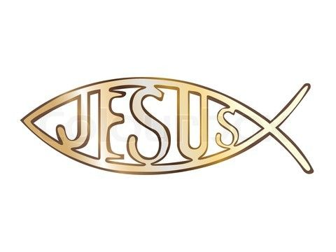 Bread as symbols christian fish symbol open bible for Fish in the bible