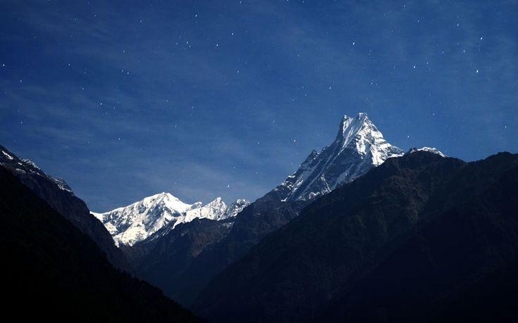 Mount Machhapuchchhre, Nepal