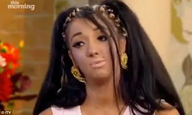 Blast from the past: After rebooting her image and entering the Celebrity Big Brother house this week, old footage of Chloe Mafia, 24, defending her name has resurfaced