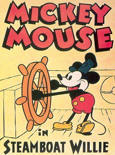 De Mickey Mouse van vroeger heeft ook zijn eigen stijl..