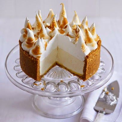 Lemon Meringue Cheesecake Shop This: Foodie Friday: Have Your Cheesecake And Bake It, Too!