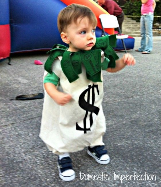 Bag of Money Costume @Traci Puk Maxwell-Hines