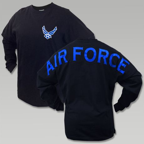 Air Force Wings Spirit Jersey T- Shirt