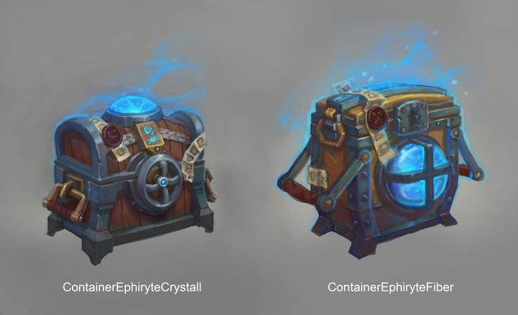 Ephyrit Barrels by Mikael Bombete on ArtStation.