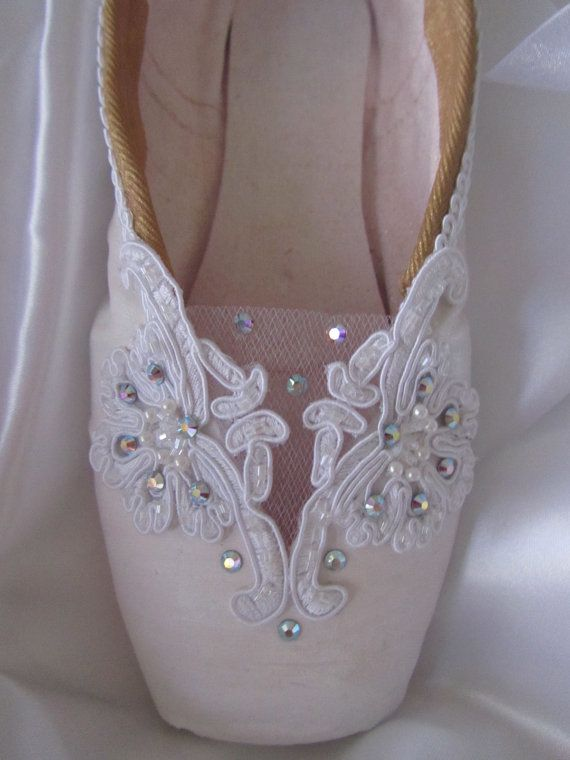 Hey, I found this really awesome Etsy listing at https://www.etsy.com/listing/125214368/sleeping-beauty-theme-decorated-pointe