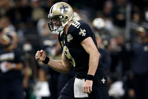 Drew Brees Ranked Number 16 On NFL Top 100 List