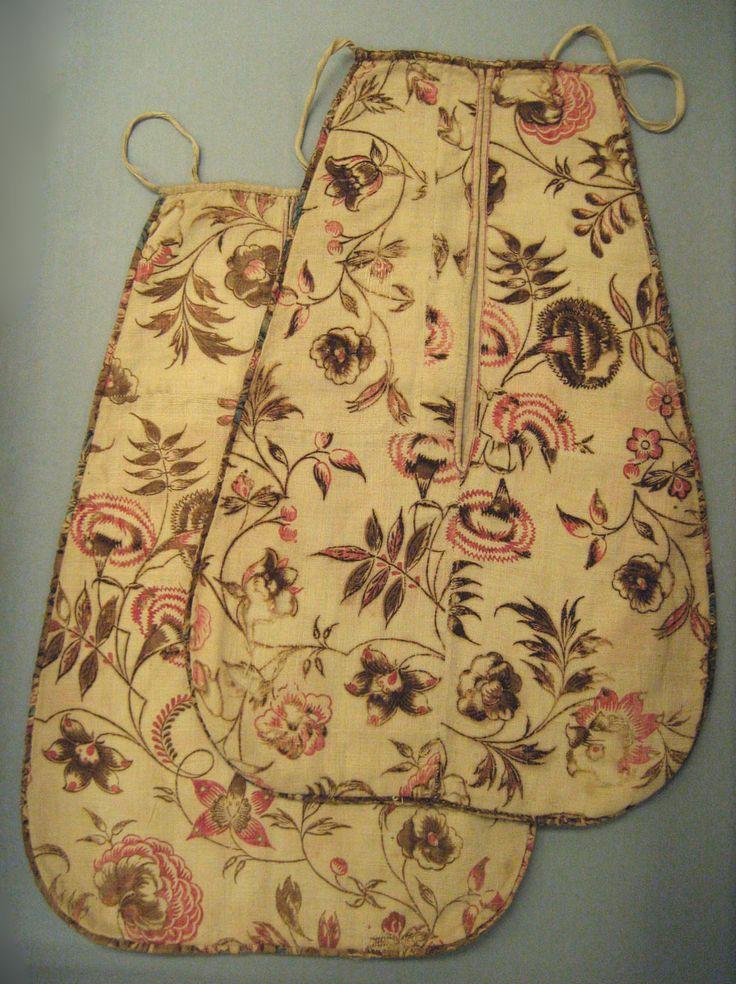 Winterthur: Textiles (Clothing) - Pocket 1735-45 England