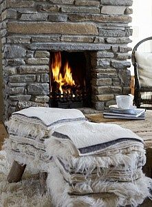 17 Best Ideas About Cottage Fireplace On Pinterest