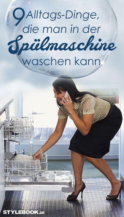 Die Spülmaschine eignet sich nicht nur zum Reinigen von Tellern, Tassen und Besteck, auch andere Sachen werden darin schnell und unkompliziert blitzeblank. STYLEBOOK.de verrät, um welche es sich handelt.