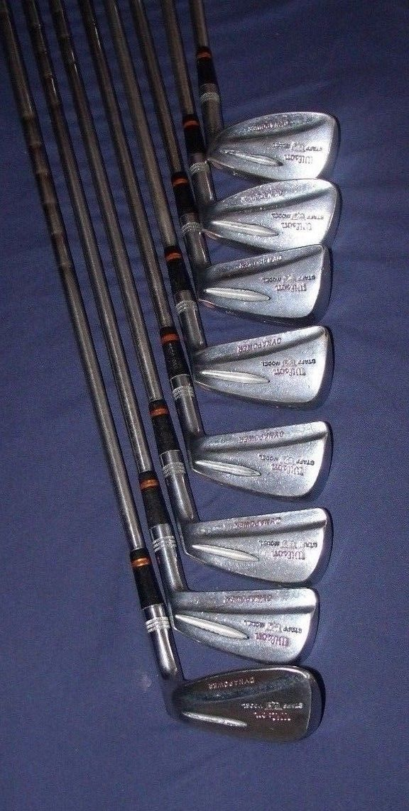 Wilson Golf Clubs Staff Model Dynapower Fluid Feel 05C20036 Steel Shaft | eBay