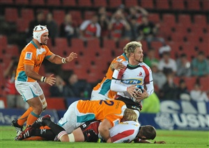 The Lions will hand a Super Rugby debut to forward Stephan Greeff on Friday when they host the Hurricanes.